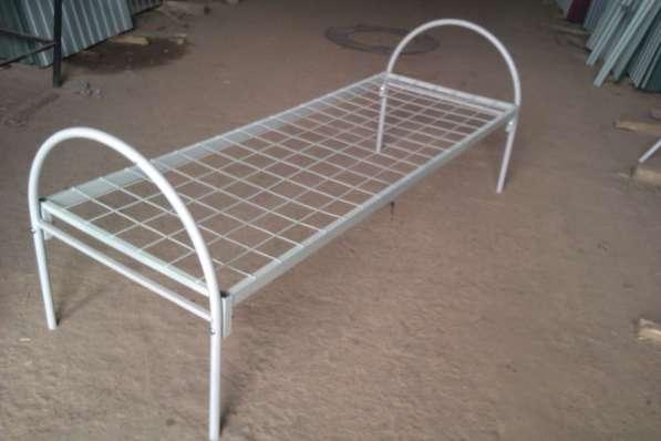 Металлические кровати эконом класса. Бесплатная доставка! в фото 3