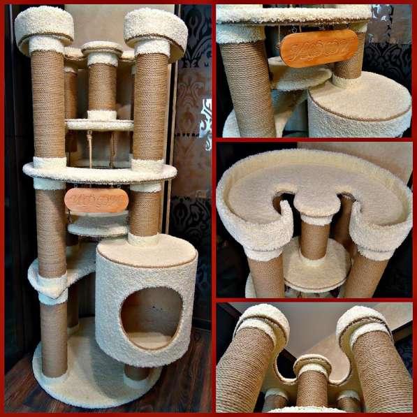 Изготовление комплексов и домиков для кошек на заказ в Ростове-на-Дону фото 10