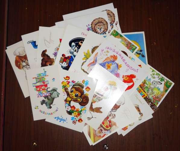 открытки конверты СССР