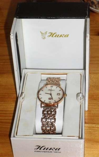 Золотые НОВЫЕ часы в Бийске фото 5