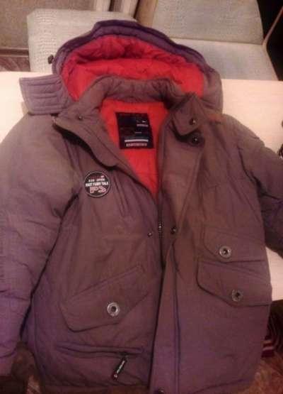 Куртку зимнюю на мальчика 10-12 лет