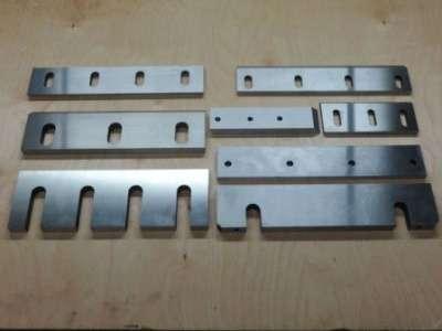 Ножи для гильотин и дробилок изготовлени