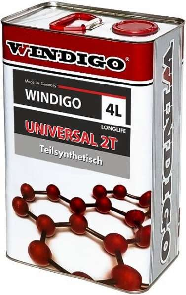 Для двух тактных моторов WINDIGO UNIVERSAL 2T