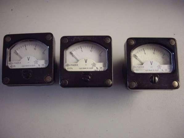 Измерительные головки для радиолюбителей М4203 в Челябинске фото 3