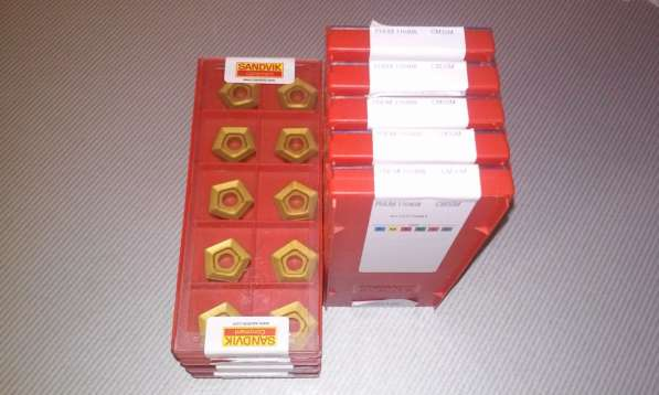 Продаю твердосплавные пластины Sandvik, Korloy, Iscar