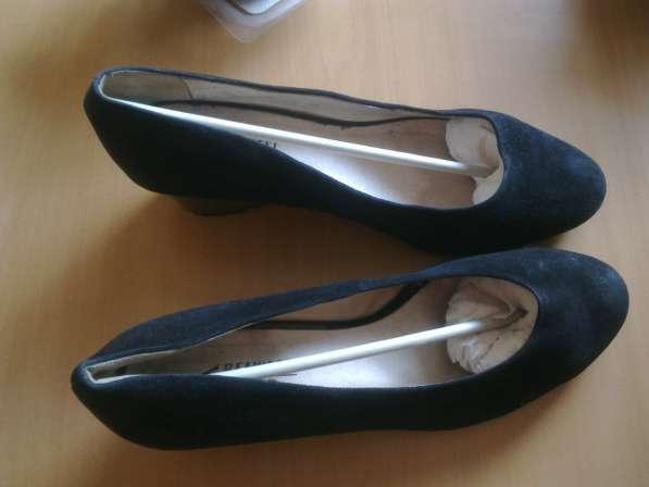 Туфли замшевые р.42 Белвест