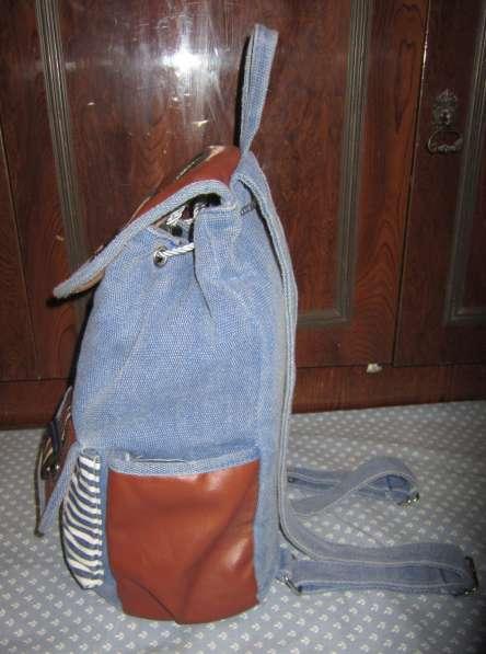 Оригинальный рюкзак ручной работы в Калининграде фото 3