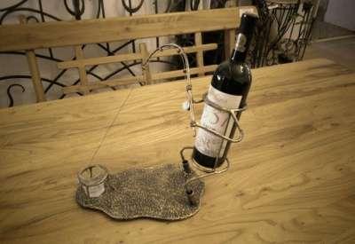 """подставка под бутылку""""Рыбак"""""""