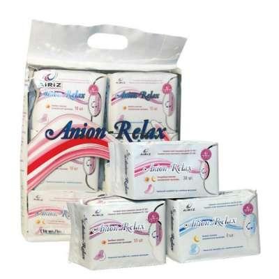 Женские гигиенические прокладки Anion-Re TIENS