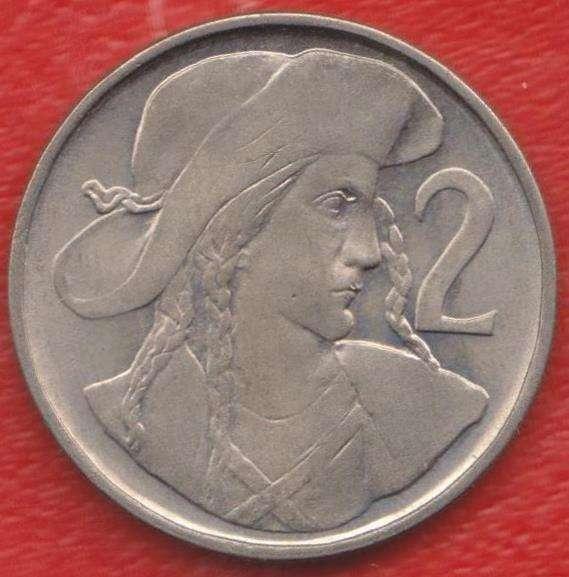 Чехословакия 2 кроны 1947 г.