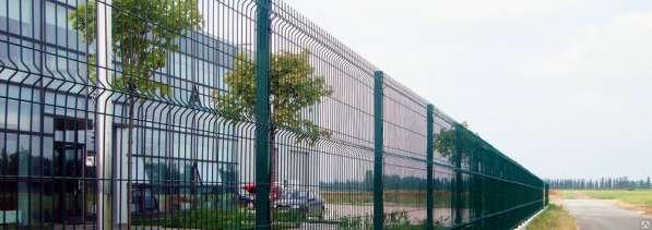 3Д Забор 1730х3000х4 мм. Порошковое окраш.