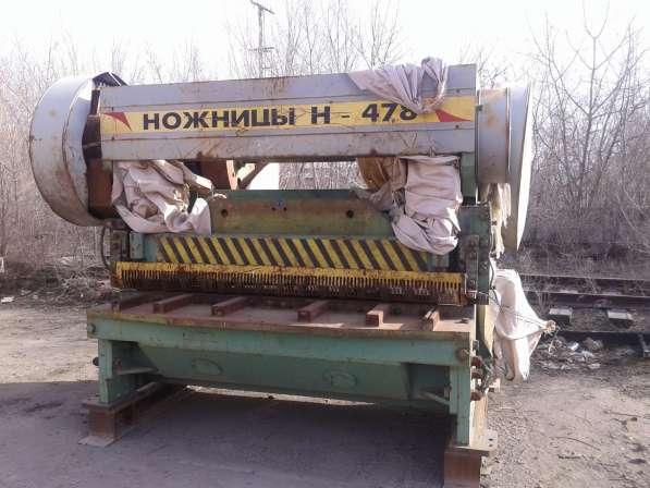 Механическая гильотина Н-478