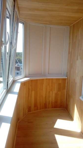 Остекление и обшивка балконов и лоджий