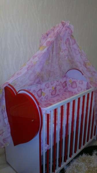 Кроватка для девочки в Калининграде фото 4