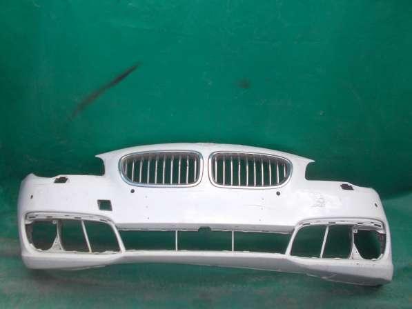 Бампер BMW F10 белый