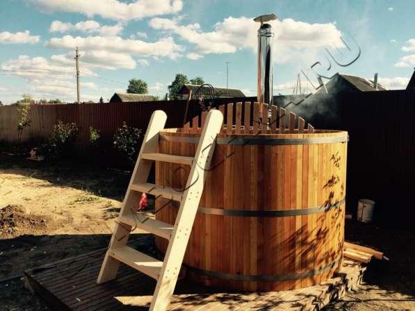Купель деревянная, кедровая