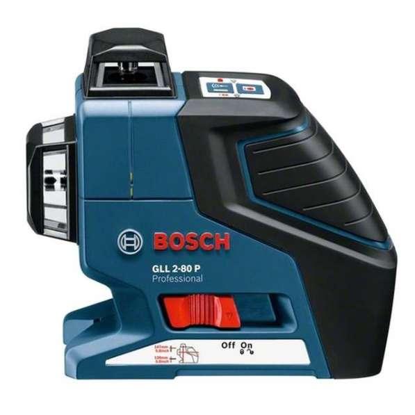 Нивелир лазерный Bosch GLL 2-80 P + BM1 + LR2 в L-Boxx 0601063209