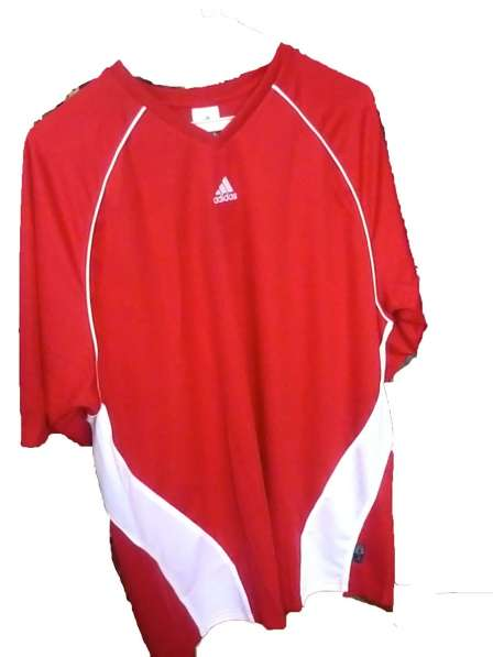 Футболка Adidas Aventis JSY SS (красная)