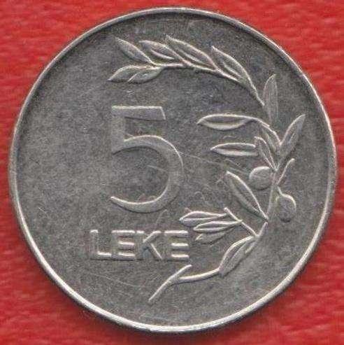 Албания 5 лек 2000 г.