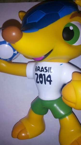 Талисман чемпионата мира по футболу в Бразилии 2014