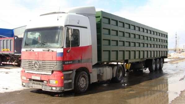 Полуприцеп металовоз ломовоз перевозка лома 80 кубов,45 тн на пневмоподвеске SAF