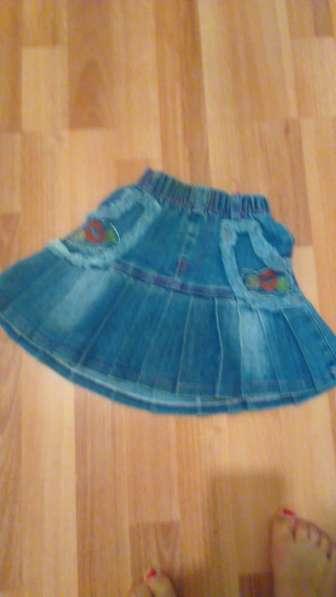 Юбка джинсовая на девочку 3 лет