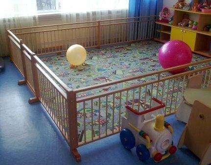 Ограждение, барьер, заборчик для детских садиков и домов ребенка
