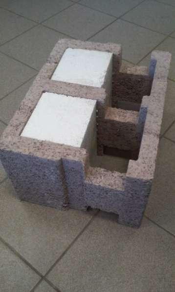 Строительные блоки 500x250x375 Durisol Серия DSs 37,5/14
