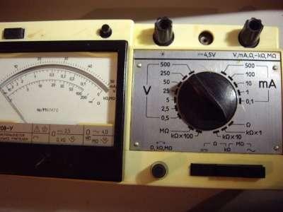 Комбинированный прибор 43208-У. тестер