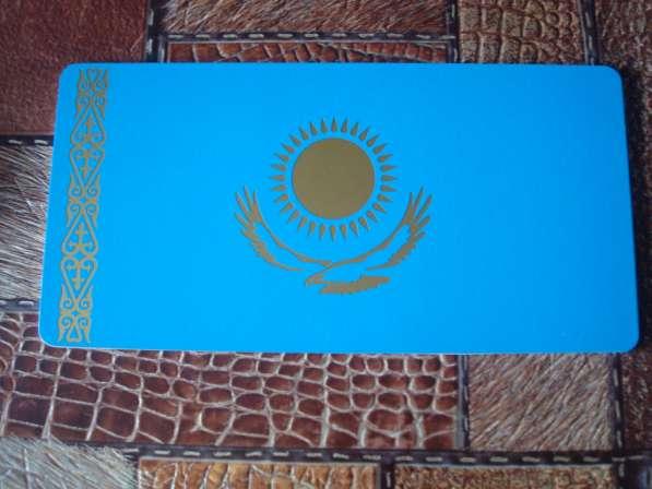 "Табличка вместо Японского номера ""Флаг Казахстана"""