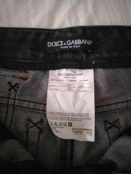 Dolce&Gabbana женские джинсовые шорты новые S 100% authentic в фото 4