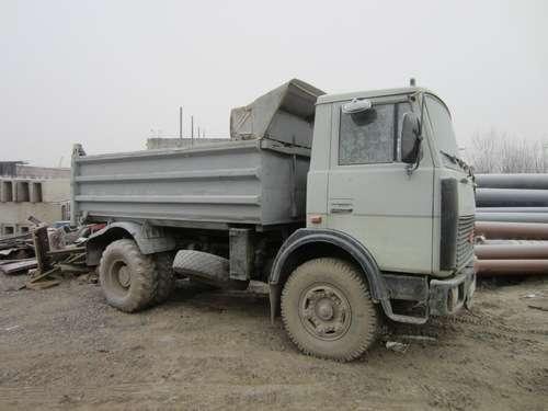 Самосвал МАЗ 55102 2003 г., 10 м3, отличное состояние