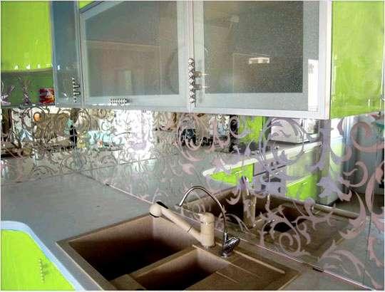 Кухонные фартуки в Волгограде фото 4