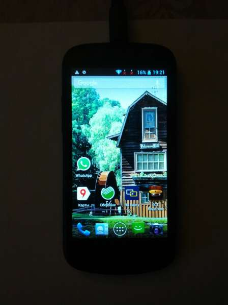 Смартфон Highscreen alpha Rage 4 Гб черный 4.5
