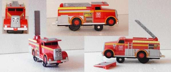 """ФЛИН. Пожарная машина, из м/ф: """"Томас и его друзья"""""""