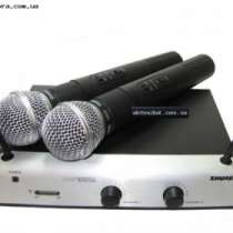 Микрофон SHURE UT42/SM58 радиосистема.2, в г.Москва