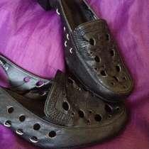 Туфли-босоножки (новые) 38 размер, в Москве