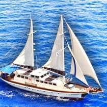 Продаю яхту класса люкс из натурального дерева motor/sailer, в г.Фетхие