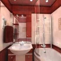 Ремонт ванных комнат и туалетов под ключ, в Череповце