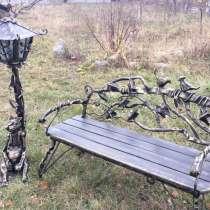 Кованная скамейка, в г.Барановичи