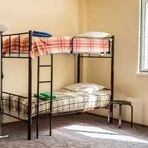 Кровати двухъярусные, односпальные металлокаркас, в Анапе