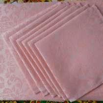 Скатерть Розовая, ткань Журавинка, в Иванове
