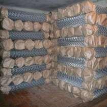 Сетка рабица оцинкованная в рулонах с доставкой, в Рязани