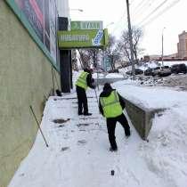 Уборка снега, в Самаре