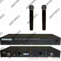 Микрофон SHURE LX88-II радиосистема 2МИК, в г.Москва