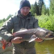 Рыбалка на тайменя по притокам Енисея, в Красноярске