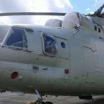 Вертолет МИ-26, в Москве