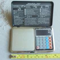 Редкие два в одном электронные весы-калькулятор на 500г, в г.Ростов-на-Дону