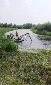 Мини земснаряд для очистки водоёмов, в г.Вологда