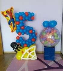 Украшение шарами, гелиевые шары, в Краснодаре
